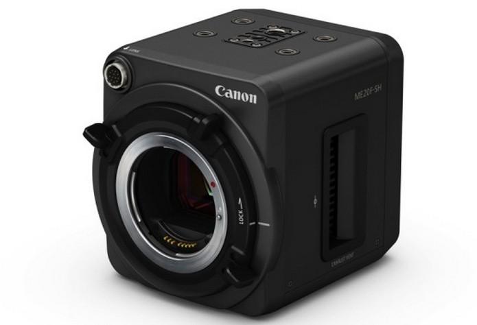 Sem lentes acopladas, câmera tem design bastante compacto (Foto: Divulgação/Canon)