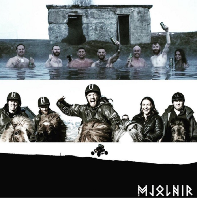 BLOG: Conor McGregor se diverte com cavalos e em lagoa com amigos na Islândia