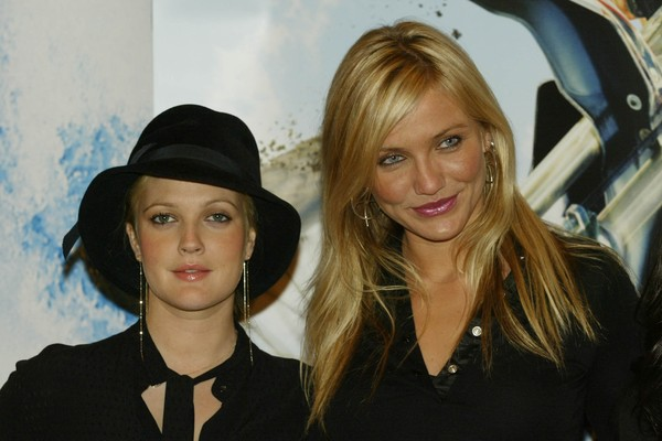 Drew Barrymore e Cameron Diaz  (Foto: Getty Images)