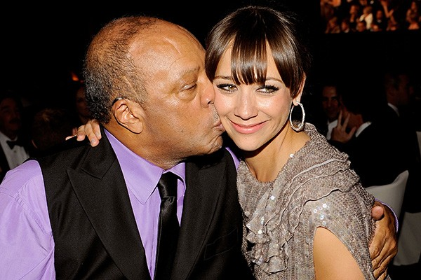 Quincy Jones e Rashida Jones (Foto: Getty Images)