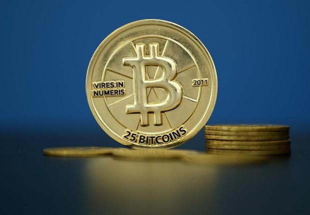 A moeda virtual bitcoin ganhou valorização no mercado ; criptomoedas ;  (Foto: Benoit Tessier/Reuters)