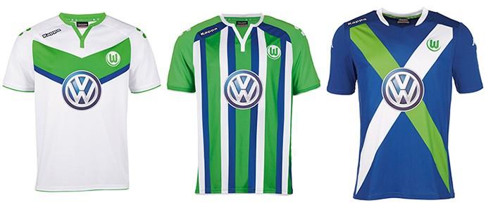 Camisas Champions Wolfsburg