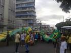 Algumas cidades do interior da Bahia têm protesto contra o governo federal