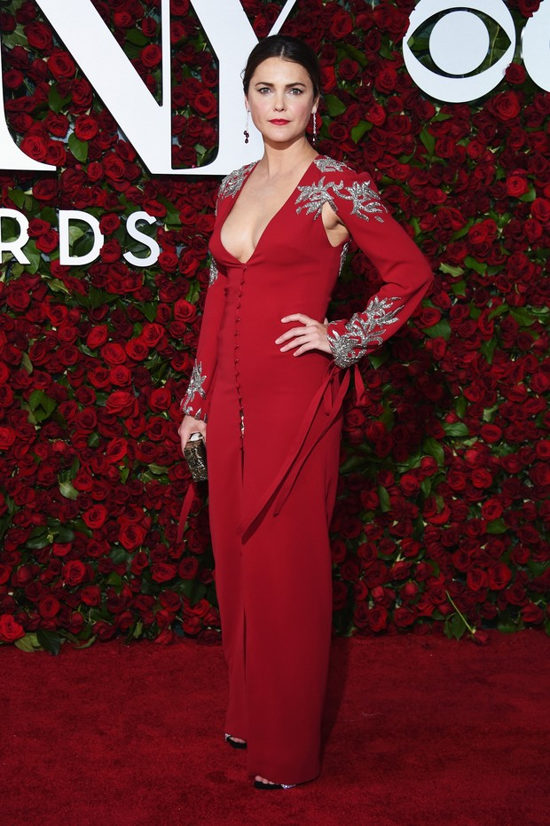 Keri Russell no Tony Awards (Foto: AFP)