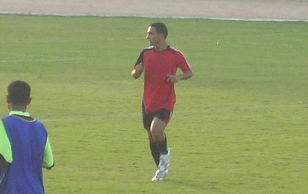 Zeid Yasin, jogador iraquiano chamado de Zico (Foto: Arquivo Pessoal)