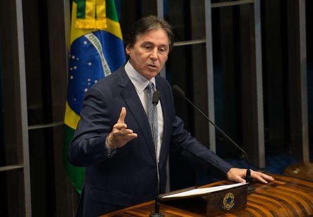 Eunício Oliveira (PMDB) (Foto: Fabio Rodrigues Pozzebom/Agência Brasil)