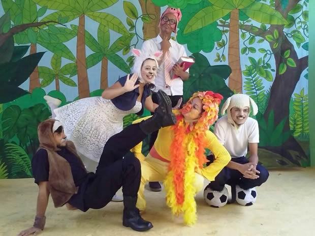 Espetáculo Confusão da Bicharada é atração em Volta Redonda (Foto: Divulgação/Prefeitura de Volta Redonda)