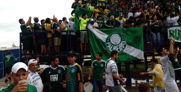 estádio vilhena palmeiras torcida (Foto: Felipe Zito)
