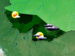 Tempo deve ser instável durante toda a quarta-feira em Rio Branco  (Foto: Reprodução/Rede Amazônica Acre)