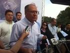 Alckmin critica escola invadida: 'Seletiva' (Moisés Soares / TV TEM)