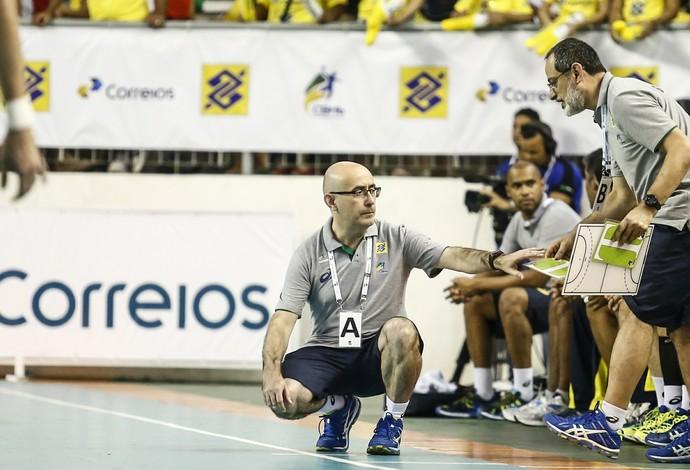 Jordi Ribera é técnico da seleção brasileira de handebol (Foto: Wander Roberto/Photo&Grafia/CBHb)
