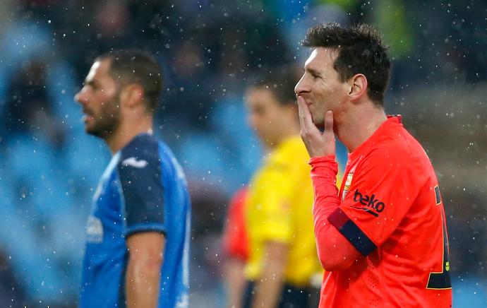 Lionel Messi Barcelona (Foto: Reuters)