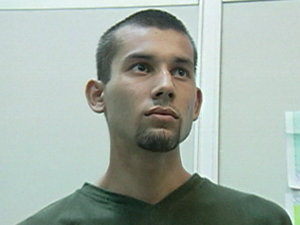 Odessi Martins da Silva, o Lumbrigão (Foto: Arquivo/ TV Gazeta - 21/04/2003)