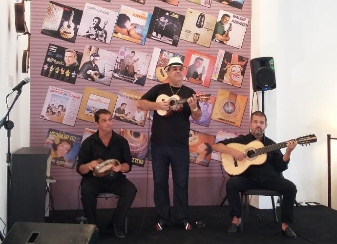 Teresa conversou com o músico que criou em Conservatória um Centro Cultural dedicado a Waldir Azevedo (Foto: Rio Sul Revista)