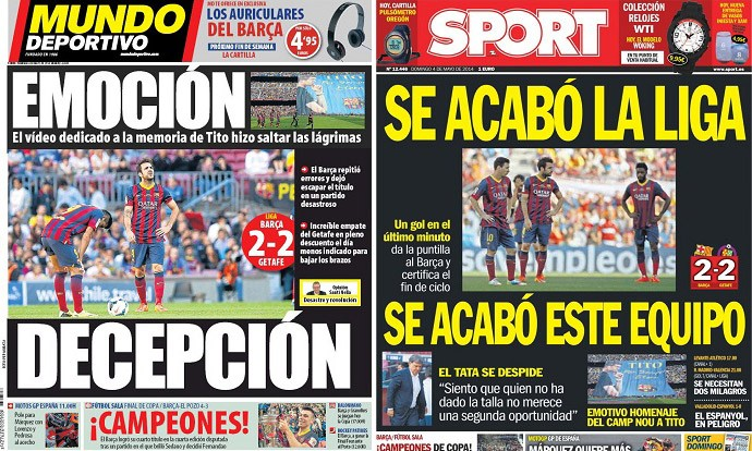 capas de jornais 04-05