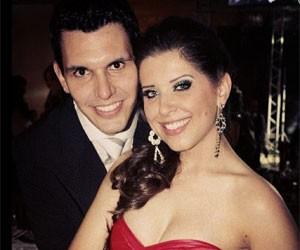 Andressa Ganacin e o noivo (Foto: Reprodução/Instagram)
