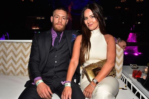 Conor McGregor e sua esposa, Dee Devlin (Foto: Getty Images)