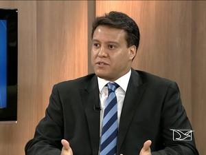 Felipe Camarão vai assumir Secretaria de Gestão e Previdência (Foto: Reprodução/ TV Mirante)