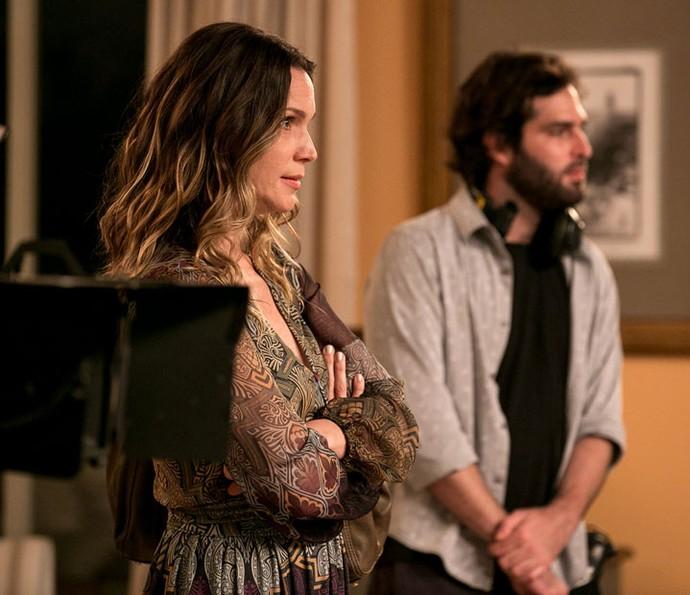 Vanessa Lóes também fica irada com a ex-BBB (Foto: Isabella Pinheiro/Gshow)