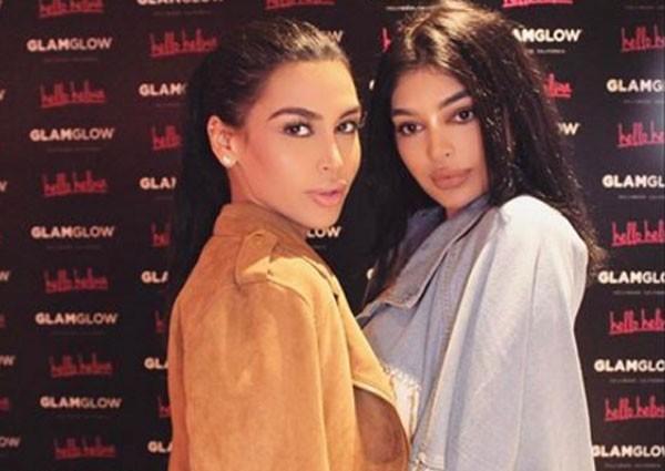 Sonia e Fyza Ali são comparadas da Kim Kardashian e Kylie Jenner (Foto: Reprodução Instagram)