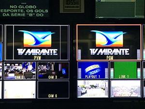 TV Mirante realiza entrevistas com candidatos ao governo do Estado  (Foto: Zeca Soares/G1)