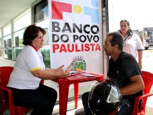 Banco do Povo Paulista segue com divulgação até 14 de março (Foto: Ricardo Ursolino/Divulgação)