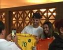 """Tardelli visita Marta e diz que vai ao Mineirão: """"Esperança de medalha"""""""