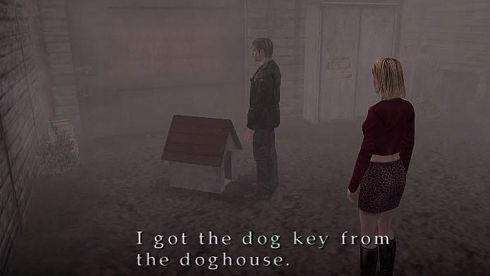 Use a Dog Key para fazer um dos finais mais engraçados de Silent Hill 2 (Foto: Reprodução/Tais Carvalho)