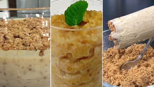 Festa Junina: faça três receitas incríveis que levam paçoca