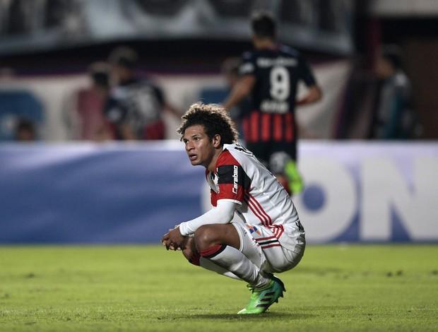 Wiliian Arão San Lorenzo x Flamengo