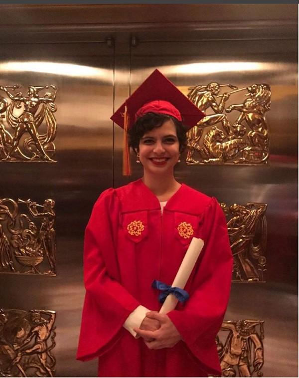 """Olivier Anquier postou foto da filha Julia após a formatura: """"orgulho"""" (Foto: Reprodução Instagram)"""