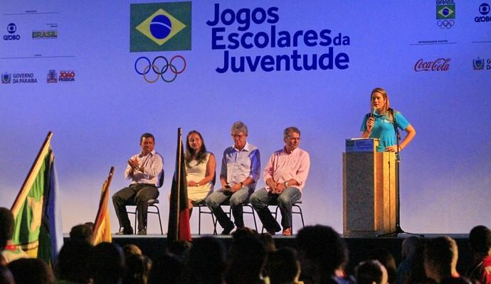 Jogos Escolares da Juventude, João Pessoa (Foto: Kleide Teixeira / Jornal da Paraíba)