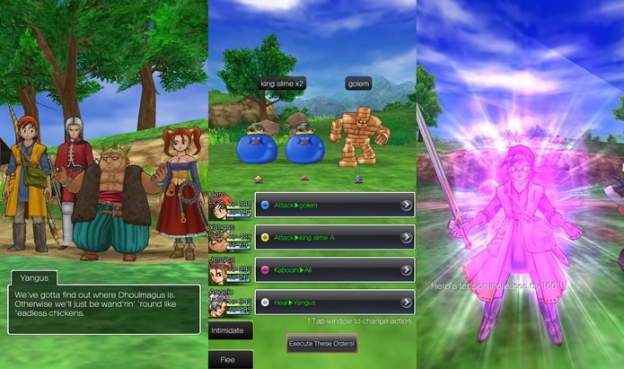 dragon quest 8 android cheats