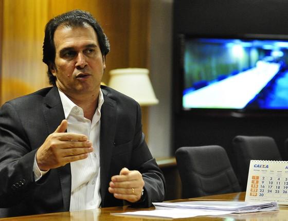 Fábio Lenza, vice-presidente da Caixa (Foto: Breno Fortes/CB/D.A Press)