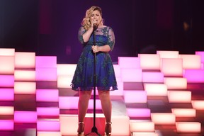 iHeart Radio Music Awards - Kelly Clarkson (Foto: AFP)
