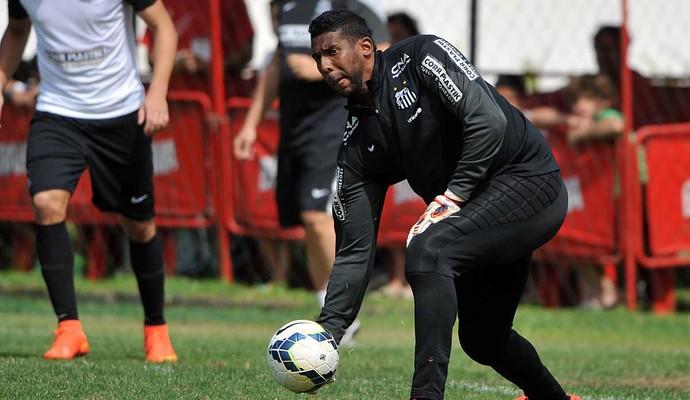 Aranha Santos (Foto: Ivan Storti / Divulgação Santos FC)