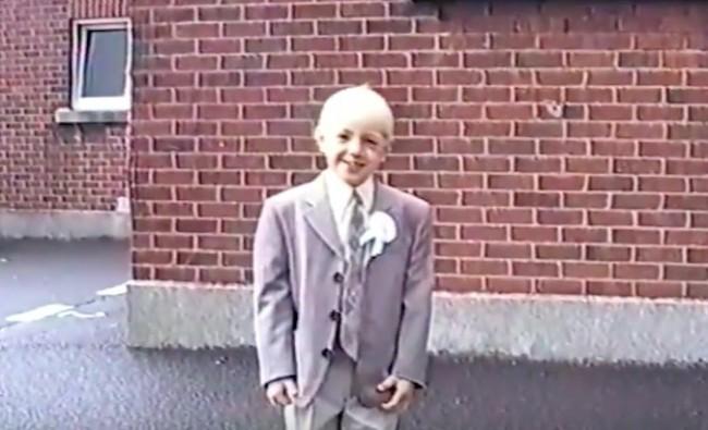 O pequeno Conor McGregor antes de ser astro do UFC (Foto: Reprodução/Youtube)