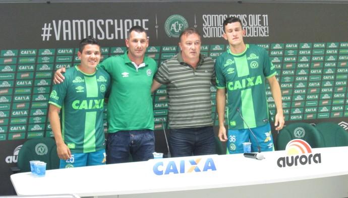 Amistoso entre Chape e Palmeiras terá a presença de sobreviventes