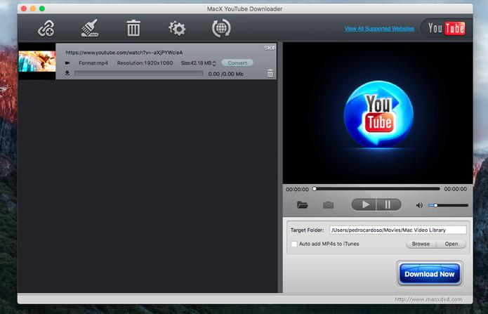como baixar videos do youtube no mac