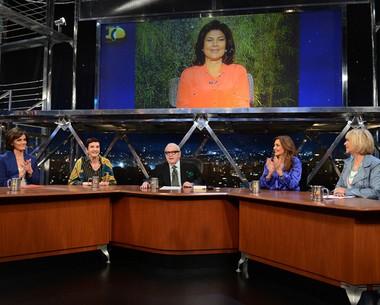 Jornalistas debatem a composição dos ministérios no governo Dilma (Ricardo Martins/Programa do Jô)