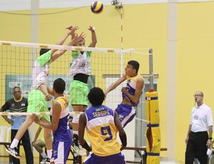 Seleção de vôlei de RO no Brasileiro de Clubes (Foto: FRV/ Divulgação)