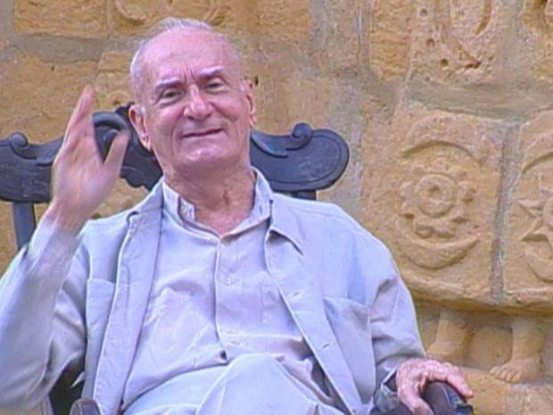 Ariano Suassuna. (Foto: Reprodução / TV Globo)