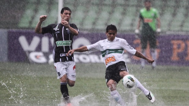 william denis figueirense x coritiba (Foto: Geraldo Bubniak/Footo Arena/Agência Estado)