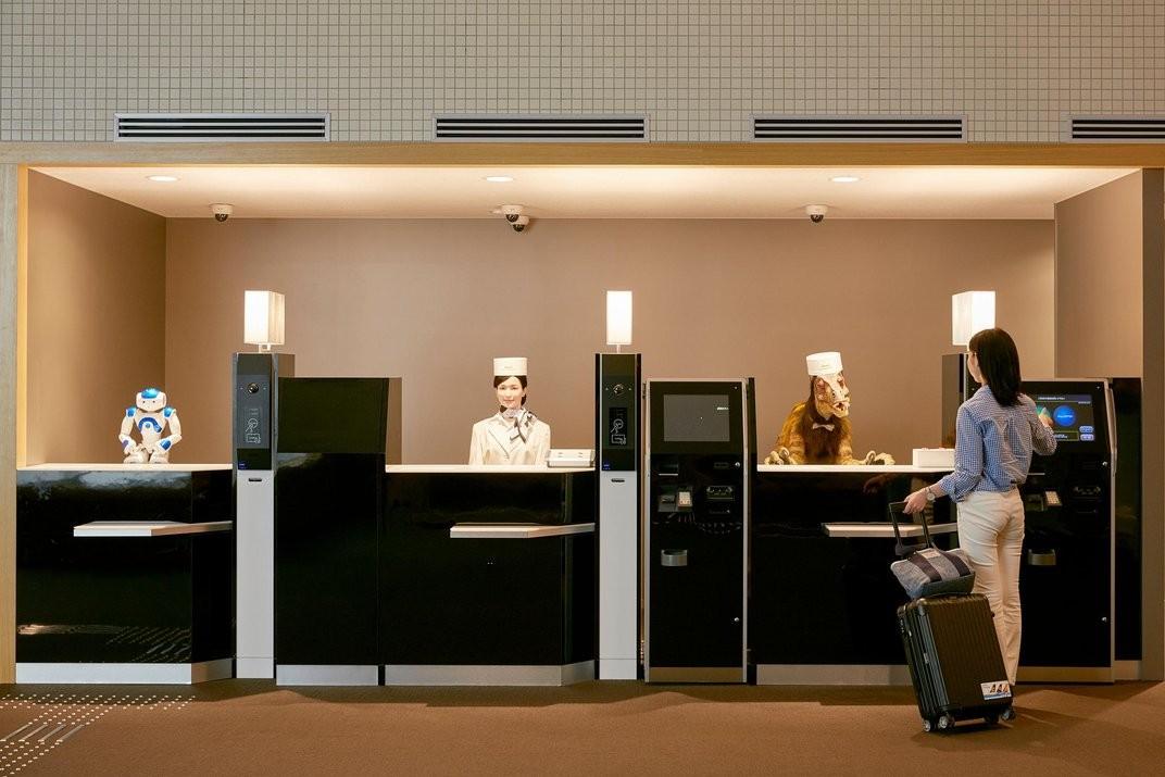 Em hotel japonês, 90% das tarefas são feitas por robôs
