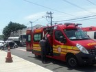 Motorista fica gravemente ferido em engavetamento na zona sul de S. José