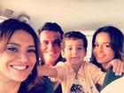 Dira Paes posta foto no último dia de gravação de 'Salve Jorge'