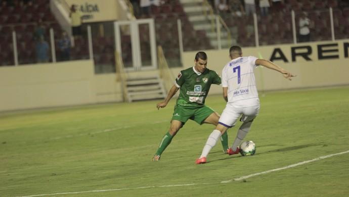 Wallace Pernambucano (Foto: Osmar Rios / GloboEsporte.com)