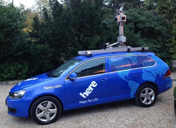Audi, BMW e Daimler compram HERE, serviço de mapeamento digital da Nokia (Foto: Reprodução)