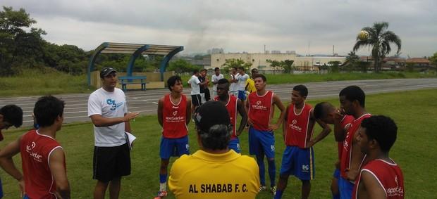 São José treina em Guarujá para a Copa São Paulo (Foto: Divulgação)