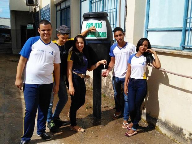 Projeto Sustentabilidade foi idealizado por servidores da Escola Estadual João Alves Batista (Foto: Manoel Barbosa/Divulgação)